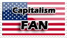 Capitalism Fan Stamp by Nakamo