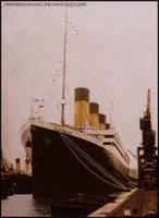 Titanic in southampton by hmhsbritannic