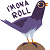 Trash Dove on a Roll (not my art) by Aurora-Alley