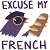 Trash Dove Excuse My French (not my art) by Aurora-Alley