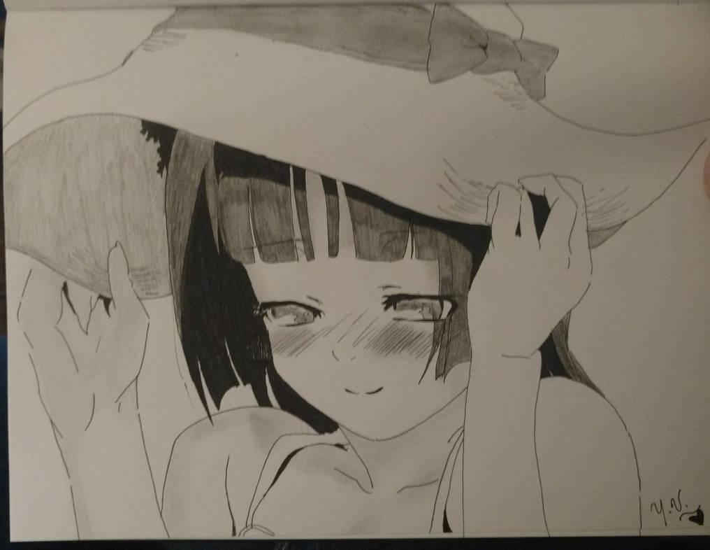 Kuroneko: Pencilled Blush by yuna500