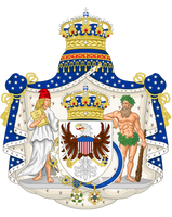CoA United States monarchy by TiltschMaster