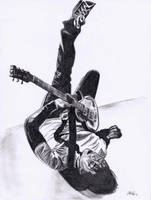 Frank Iero - Pencil by iJaeli