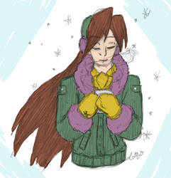 Tempomas 23: Contemplating over a cup of cocoa by Lilac-Vrt-Olligoci
