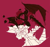 Palette Challenge: Dark Meta Knight by Lilac-Vrt-Olligoci