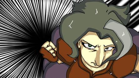 One Punch Grandma by Lilac-Vrt-Olligoci