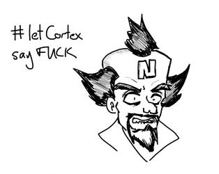 #letcortexsayFUCK by Lilac-Vrt-Olligoci