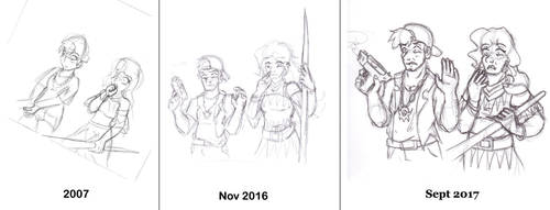 Another Comparison Doodle by Lilac-Vrt-Olligoci