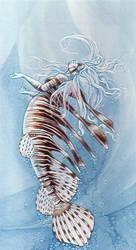 Mermaid lionfish by MAReiach