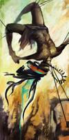 Leap, Antelope, Leap by Alicique