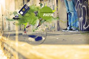skatebording PATH by zinkai