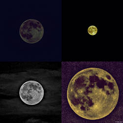 Super Moon Montage by JDM4CHRIST