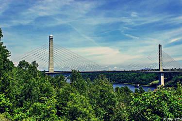 Penobscot Narrows Bridge Observatory - Maine by JDM4CHRIST