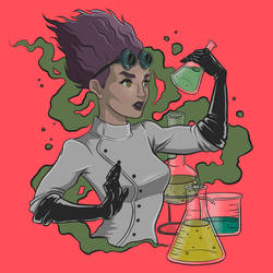 Mad Scientist by shwamantha