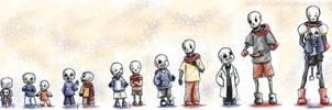 Undertale - Skelegrow by RabenPrinzessin