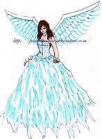 Detailed Angel Drawing by PendulousRose