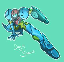 Day 4: Samus by Zalien0