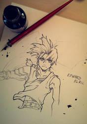 Edward Elric [Dip Pen] by studioodin