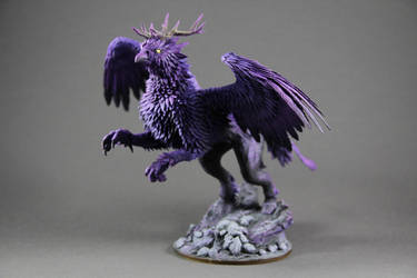 Leyfeather Hippogryp (World of Warcraft sculpture) by ColibriWorkshop