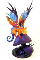 Brightwing Dragon (World of Warcraft sculpture) by ColibriWorkshop
