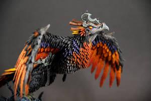 Clutch of Ji-Kun (World of Warcraft sculpture) by ColibriWorkshop