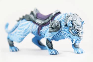 Swift Spectral Tiger (World of Warcraft sculpture) by ColibriWorkshop