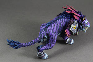 Primal Stalker (World of Warcraft sculpture) by ColibriWorkshop