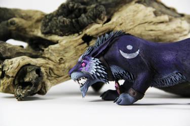 Night Elf Druid (World of Warcraft sculpture) by ColibriWorkshop