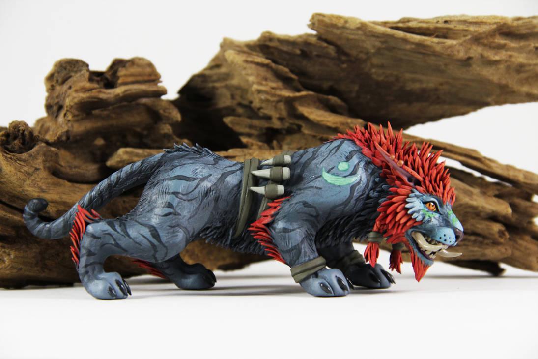 Troll Druid (World of Warcraft sculpture) by ColibriWorkshop