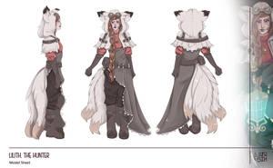 [OC] Lilith Model Sheet by LunaBih