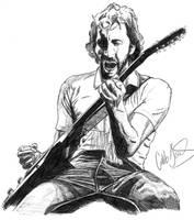 Pete Townshend by urfavoriteartist