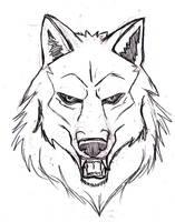 Wolf design WIP by Navina