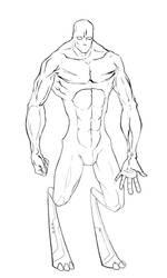 Lines: Cyborg by AMON-THE-EVIL-CYBORG