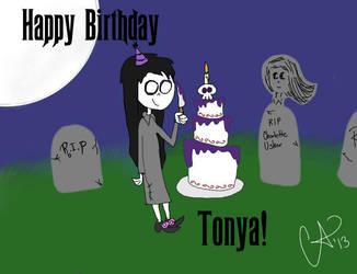 Happy Birthday Tonya! by benedictbenson