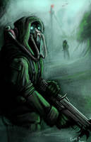 Forest Sentry by Rhunyc