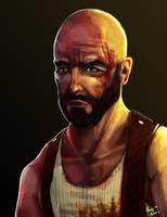 Max Payne, Portrait by Rhunyc
