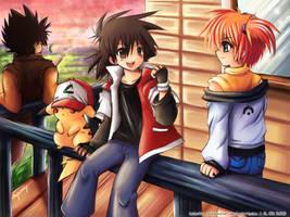 Pokemon by sunshineikimaru