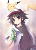 Ash :: Pokemon by sunshineikimaru