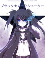 .:Black Rock Shooter:. by sunshineikimaru