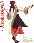 Disney Villainess Cruella De Vil by misterpickles