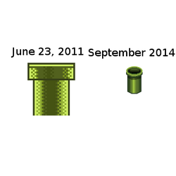 Mario-pipe-pixel-this-again by Nicnubill