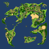 Dragon quest IV World Map by Nicnubill