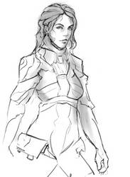Armor Sketch by DeltaFiveZeroFive
