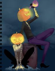 DuncanLupe .Spook Night. by Samuraiqueen