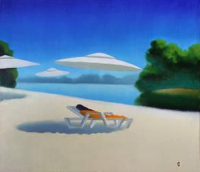UFO painting by natavolstes