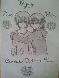Kiryuu twins by FujikageSakura