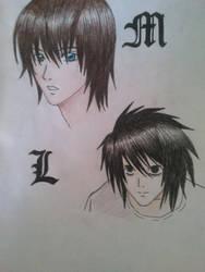 Matt and L by FujikageSakura