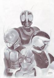 Kamen Rider Black Series by ferdi87