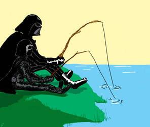 Grandpa Vader by NelsonFloresArt