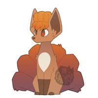 Fox Sox by calypso-art